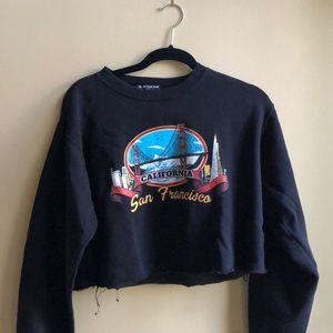San Francisco Crop Sweatshirt